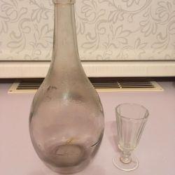 Bottle old 1 liter 1959