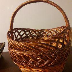 wicker basket 32 * 18cm