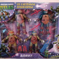 Teenage Mutant Ninja Turtles with Light Projector