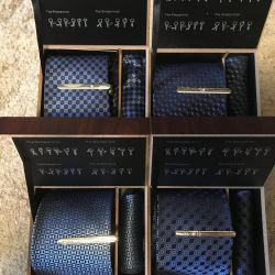 Подарочный набор галстуки 3 в 1 👔