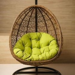Suspended rattan chair