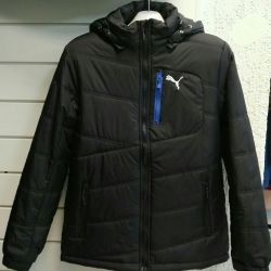 Jacket PUMA SP NORWAY JKT / BLACK-BLACK