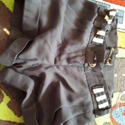 Chiffon shorts little lady