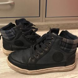 Children's shoes PATROL, nat. leather