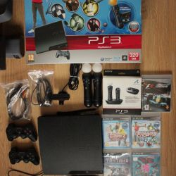 Game console PS3 320Gb