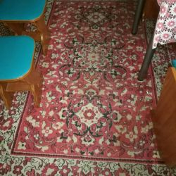 Carpet from natural wool