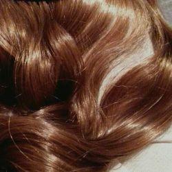 👧 Τρίψτε το νέο χρώμα κάτω από τα μαλλιά με χρώμα σοκολάτας 23 × 48cm