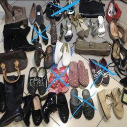 Women's shoes bag purse umbrella