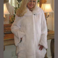 Mink γούνινο παλτό επειγόντως