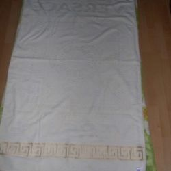 Beach towel Versace-White (95x160)