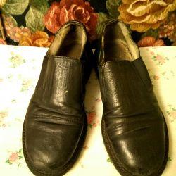 Ayakkabı genç s. 36 siyah deri