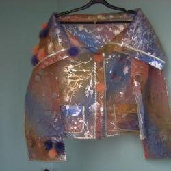 Designer evening blouse