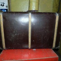 Suitcase Soviet USSR Vintage