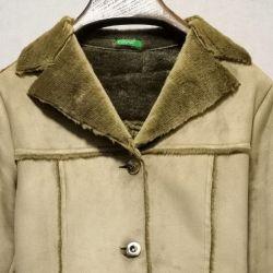 Benetton Sheepskin Coat