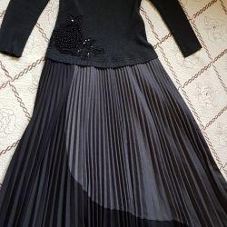 Muhteşem, İtalyan Pileli Elbise