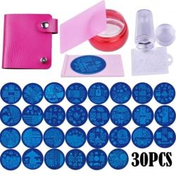 Set for manicure (stamp + plates)