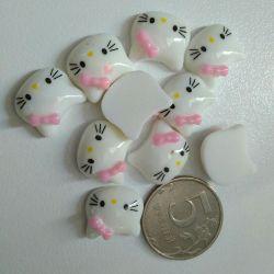Cabochons 1.5-2 cm Kitty