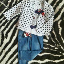 Suit for girls, new!