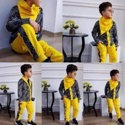 Νέα κοστούμι τριών τεμαχίων για ένα αγόρι