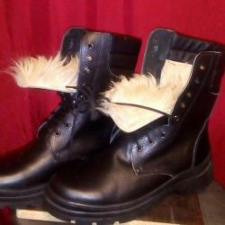 Boots on sheepskin all r-ry
