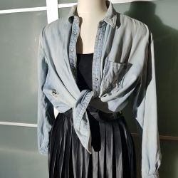 Bershka jeans shirt