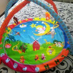 Children's developing mat