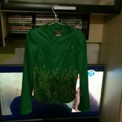 Women's jacket ecoskin