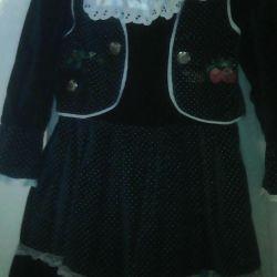 Velvet rochie cu căptușeală
