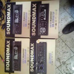 Car SOUNDMAX USB / SD