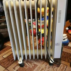 Electric heater 10 sections