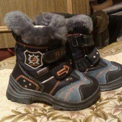 Χειμερινές μπότες για παιδιά, μέγεθος 22