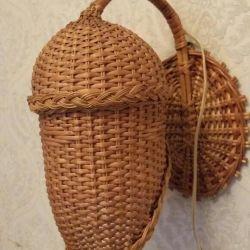 Handmade sconce
