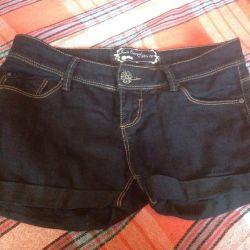 Denim shorts stradivarius