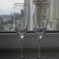 Yeni şampanya bardağı