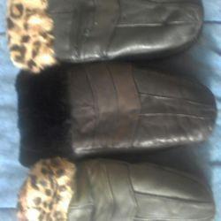 New warm mittens