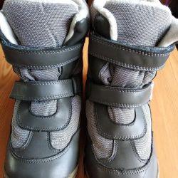 Χειμερινές μπότες στο μέγεθος του παιδιού 36.