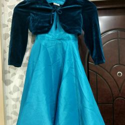 Dress with balero