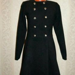 Coat on buttons