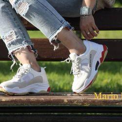 Spor ayakkabısı mevcut yeni bedenler 34-40