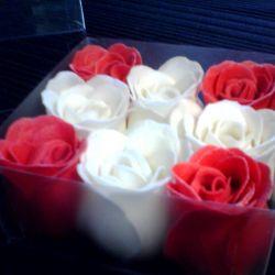 Soap-roses.