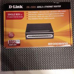 Yönlendirici D-link DSL-2500U