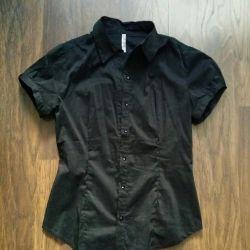 Μπλούζα μαύρο 46-48
