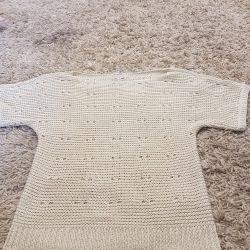 Blouse knitting