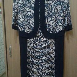Φανταχτερό φόρεμα 54 μέγεθος