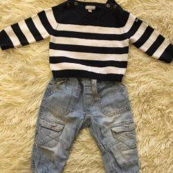Jeans ve kazak