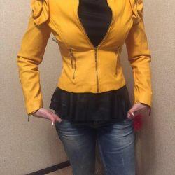 Куртка ЭКО кожа люкс! Кожанка