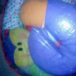 Pillow snake for little ones