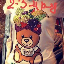 T-shirt moshino