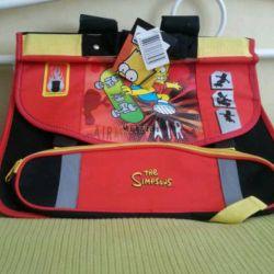 Новый ранец портфель для 1-3 классов