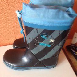 Καουτσούκ μπότες 32r